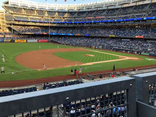 Yankee Stadium, section: 227A, row: 1, seat: 3-7