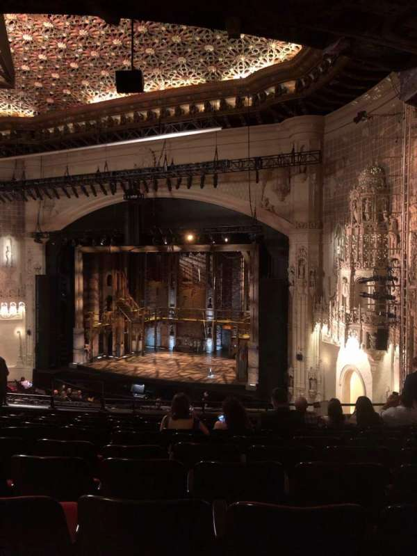 Orpheum Theatre (San Francisco), section: mezzanine r, row: L, seat: 24