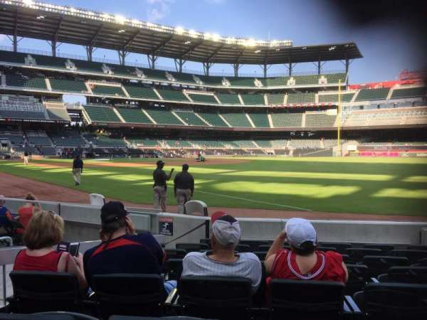 Truist Park, section: 11, row: 8, seat: 5