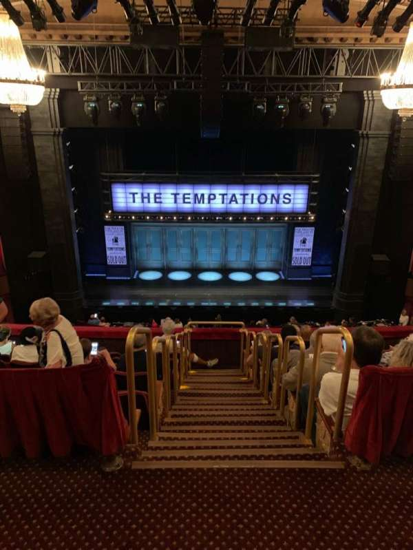 Imperial Theatre, section: Rear Mezzanine 3, row: A, seat: 7