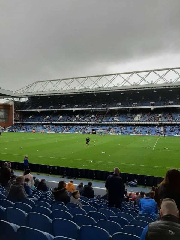 Ibrox Stadium, section: GF1, row: O, seat: 38