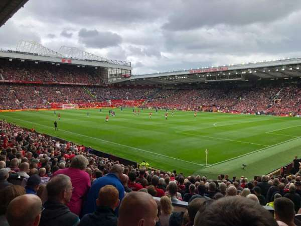 Old Trafford, section: N2413, row: 7, seat: 30