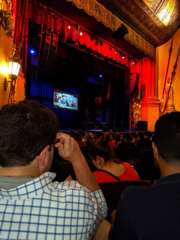 Beacon Theatre, section: Orchestra 3, row: L, seat: 39