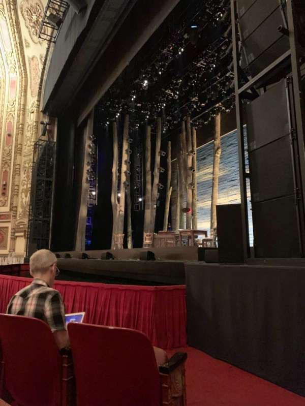 Cadillac Palace Theater, section: Orchestra R, row: C, seat: 16