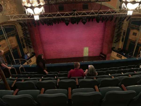 Shubert Theatre, section: Balcony C, row: G, seat: 109