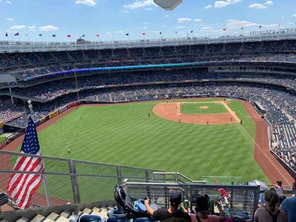 Yankee Stadium, section: 434b, row: 11, seat: 8