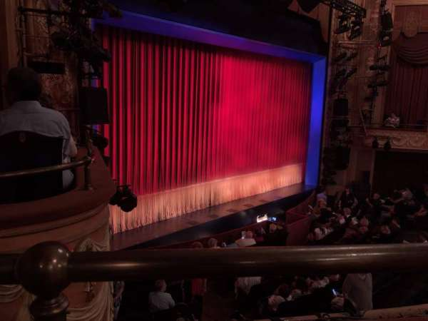 Longacre Theatre, section: Mezzanine L, row: A, seat: 22