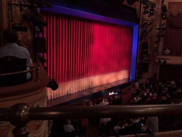 Longacre Theatre, section: Mezzanine L, row: A, seat: 22