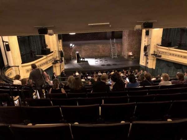 Hudson Theatre, section: Dress Circle C, row: J, seat: 103