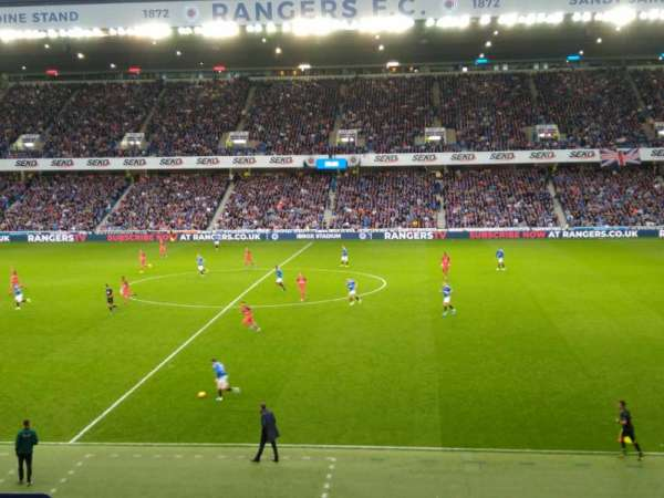 Ibrox Stadium, section: Mfk, row: H, seat: 134