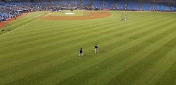 Rogers Centre, section: 207R, row: 1, seat: 2