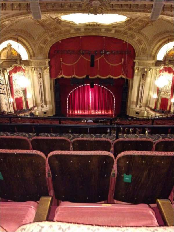 Citizens Bank Opera House, section: Balcony C, row: S, seat: 110