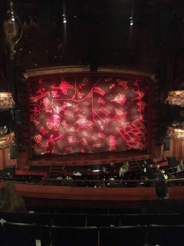 Lyceum Theatre (West End), section: Royal Circle, row: F, seat: 30