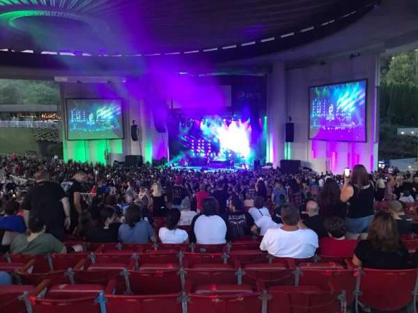 PNC Bank Arts Center, section: 402, row: D, seat: 102