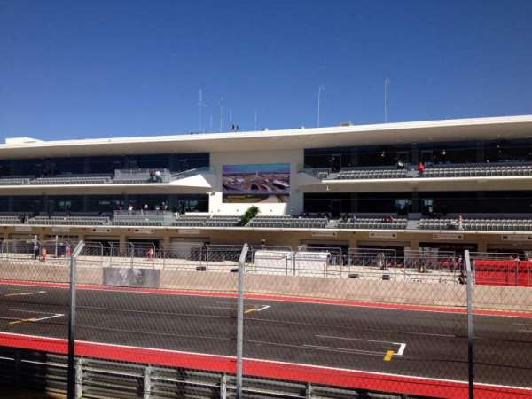 Circuit of the Americas, section: 109, row: 8