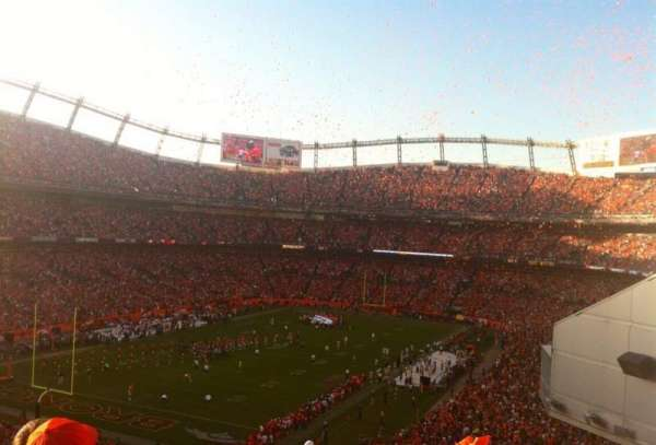 Broncos Stadium at Mile High, section: 228, row: 22