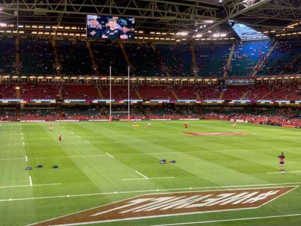 Principality Stadium, section: N4, row: 2, seat: 5