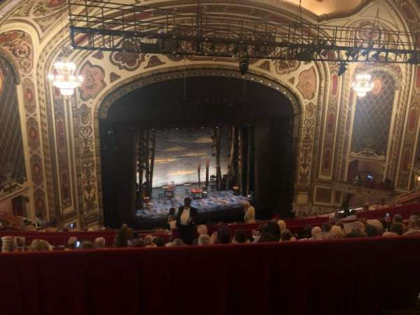 Cadillac Palace Theater, section: Balcony L, row: LL, seat: 11