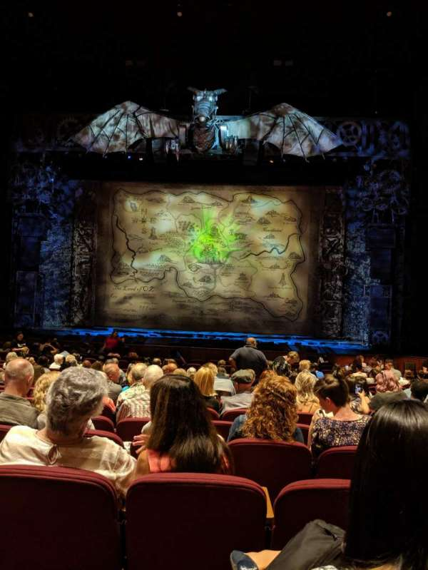 San Jose Center For The Performing Arts, section: Orchestra R, row: 14, seat: 7