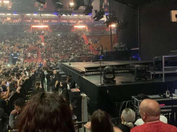 American Airlines Arena, section: 105, row: N, seat: 20