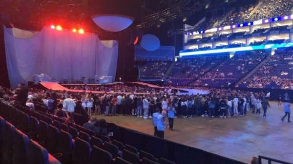 The O2 Arena, section: 103, row: G, seat: 90