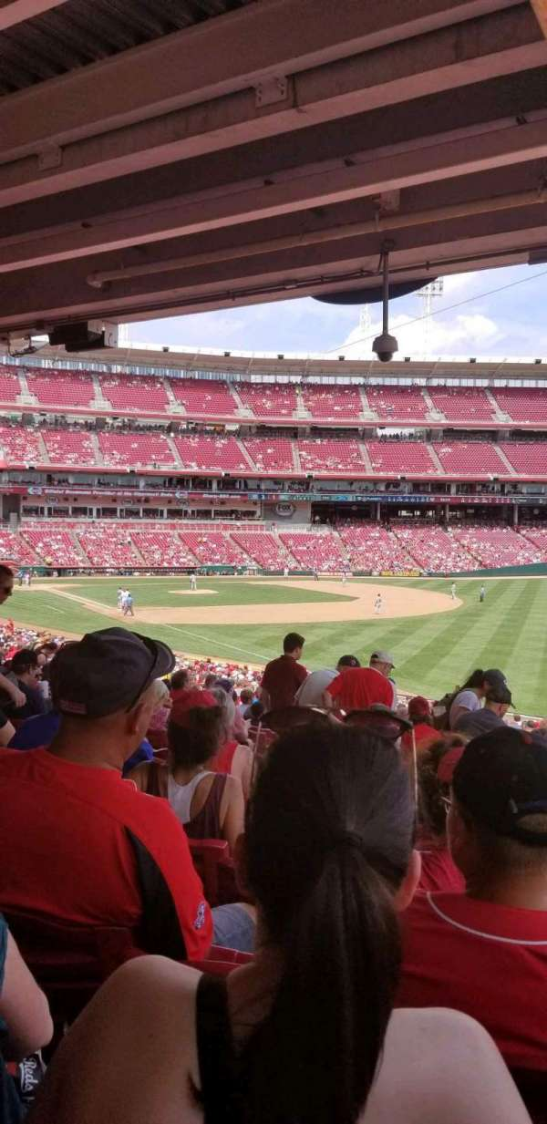 Great American Ball Park, section: 137, row: OO, seat: 10