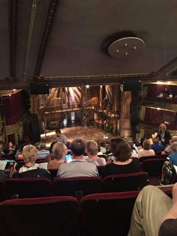 CIBC Theatre, section: Mezzanine L, row: L, seat: 7