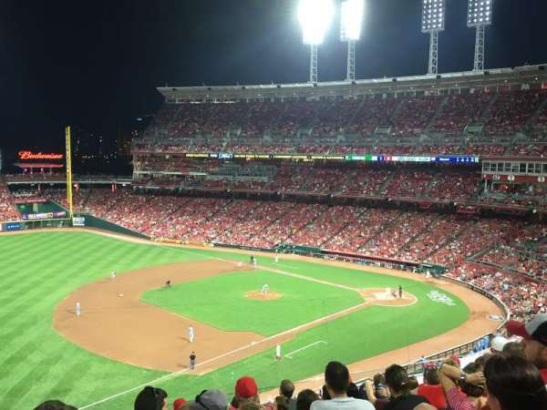Great American Ball Park, section: 414, row: J, seat: 22
