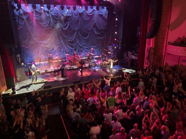 Capitol Theatre (Port Chester), section: Left Loge, row: AA, seat: 105
