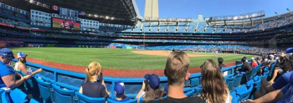 Rogers Centre, section: 129L, row: 3, seat: 108