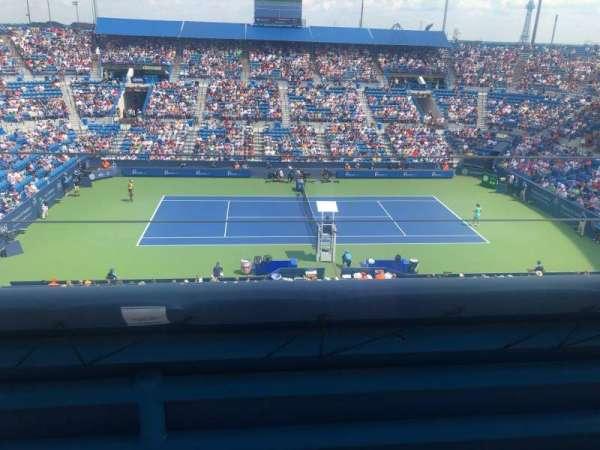 Lindner Family Tennis Center, Center Court, section: 326, row: J, seat: 9