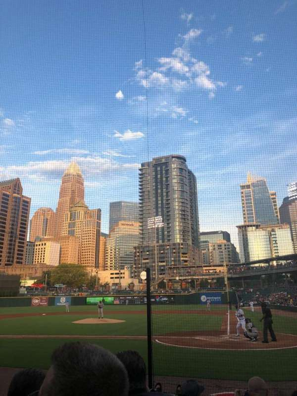 BB&T Ballpark (Charlotte), section: 113, row: G, seat: 6
