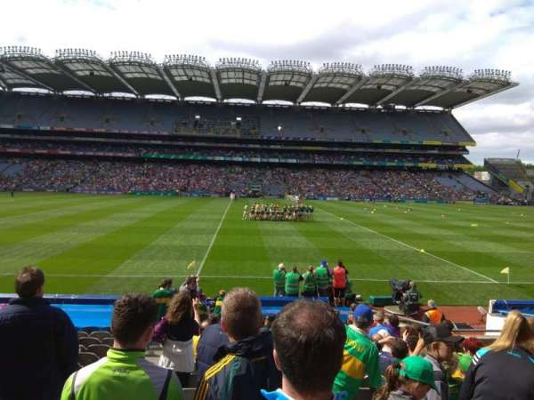 Croke Park, section: 306, row: R, seat: 13