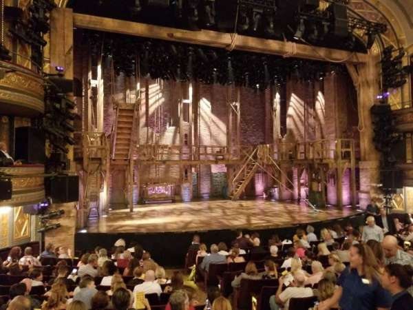 Richard Rodgers Theatre, section: Orchestra L, row: N, seat: 9