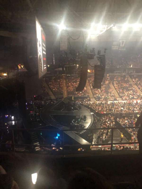 Times Union Center, section: 210, row: E, seat: 3