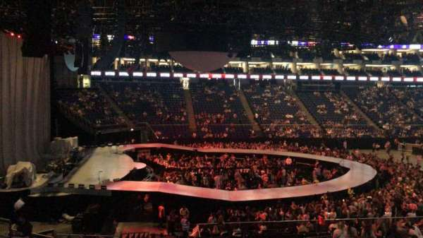 The O2 Arena, section: D101, row: ZZ, seat: 4