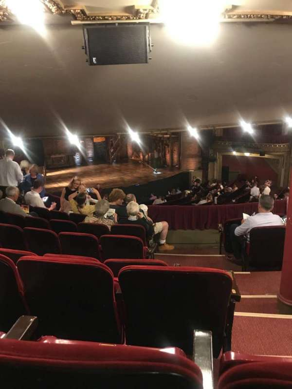 CIBC Theatre, section: Dress circle l, row: G, seat: 3