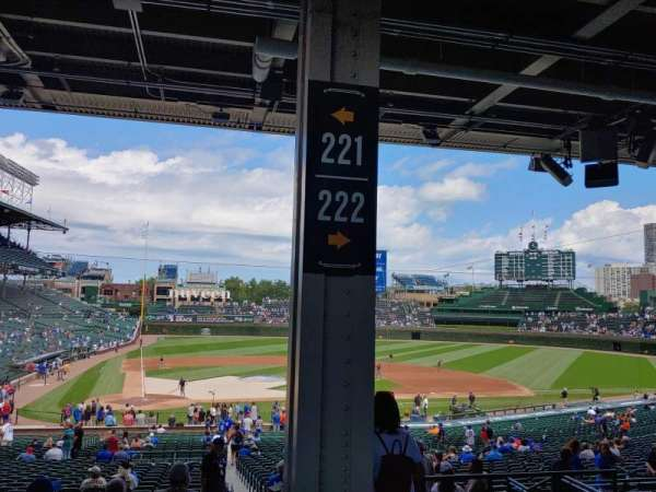 Wrigley Field, section: 221, row: 11, seat: 18