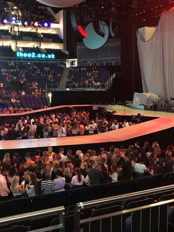 The O2 Arena, section: 112, row: K, seat: 363