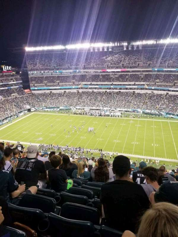 Lincoln Financial Field, section: 227, row: 22, seat: 9