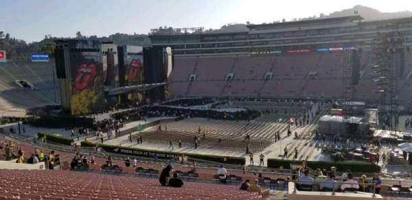 Rose Bowl, section: 6-L, row: 56, seat: 3