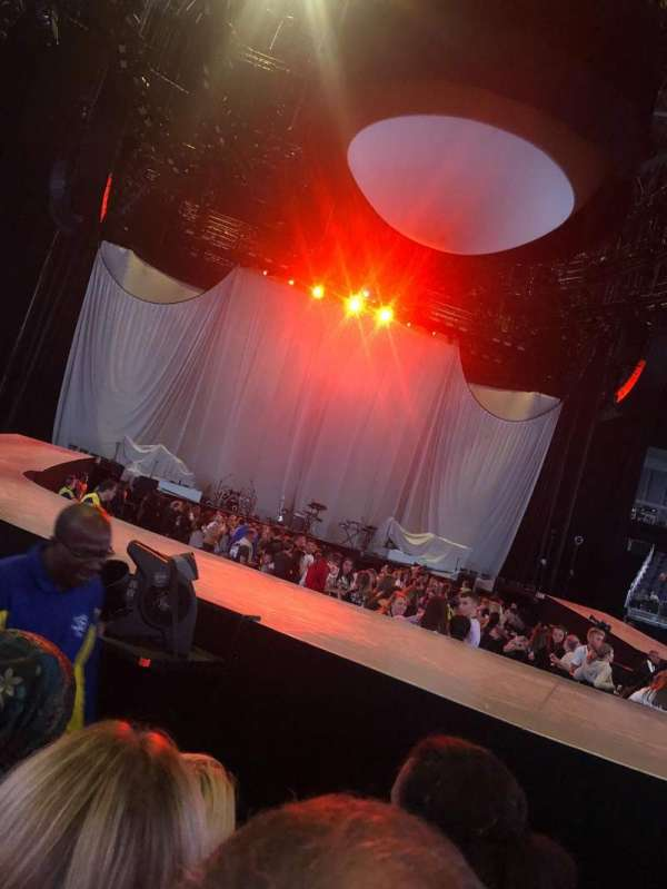 The O2 Arena, section: Golden Circle