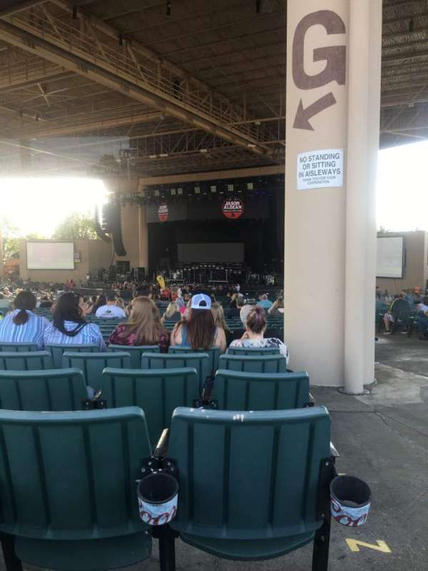 Ruoff Music Center, section: G, row: BB, seat: 33