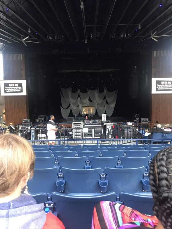 Merriweather Post Pavilion, section: 300, row: HH, seat: 19