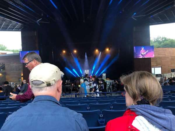Merriweather Post Pavilion, section: 300, row: HH, seat: 20