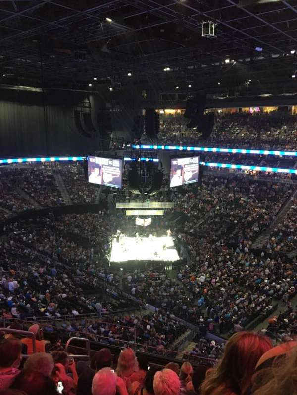 T-Mobile Arena, section: 209, row: H, seat: 7