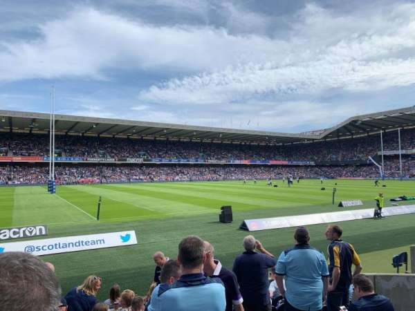 Murrayfield Stadium, section: W29, row: J, seat: 10