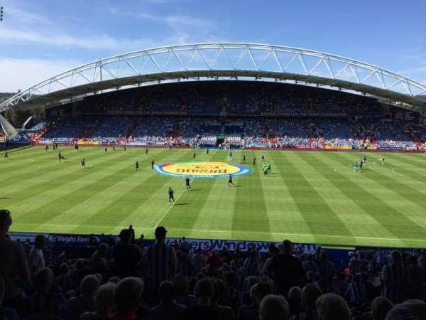 John Smith's Stadium, section: Kilner Bank, row: DD, seat: 111
