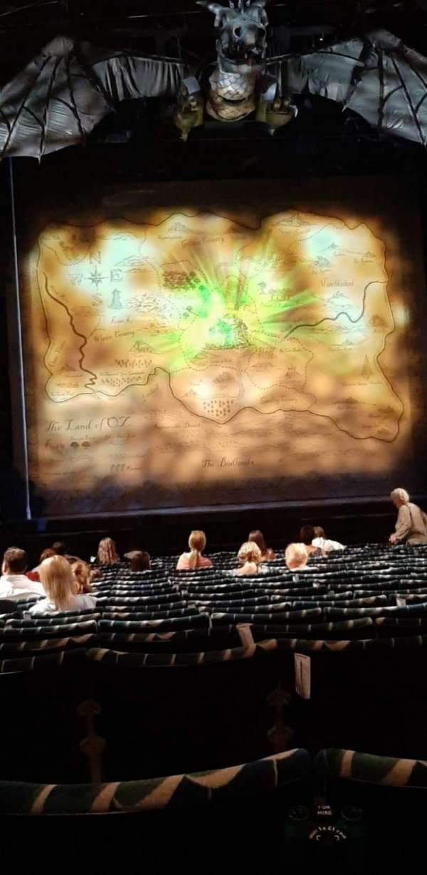 Apollo Victoria Theatre, section: Stalls, row: S, seat: 27