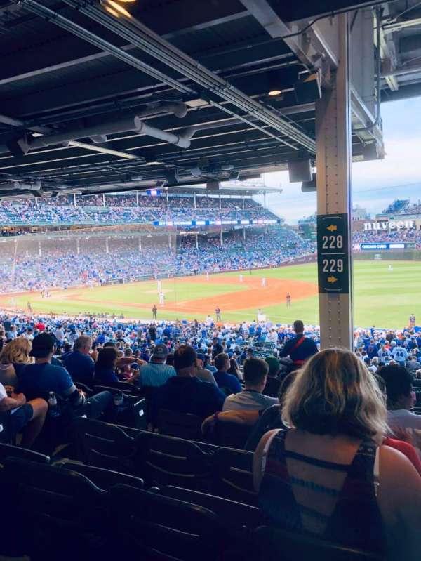 Wrigley Field, section: 229, row: 16, seat: 5